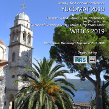 YUCOMAT & WRTCS 2019 - Book of Abstracts