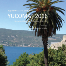 YUCOMAT 2016 - Book of Abstracts