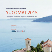 YUCOMAT 2015 - Book of Abstracts