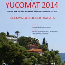 Sixteenth Annual Conference YUCOMAT 2014