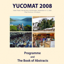 Tenth Annual Conference YUCOMAT 2008