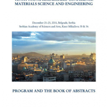 Program and the Book of Abstracts / Tenth Young Researchers' Conference Materials Science and Engineering, December 21-23, 2011, Belgrade, Serbia