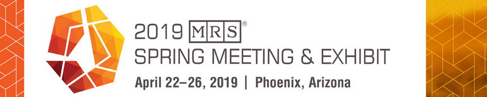 2019 MRS Spring Meeting & Exhibit