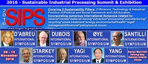 2016 - Sustainable Industrial Processing Summit