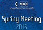 E-MRS SPRING MEETING 15, Lille - May 11-15