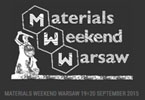 Materials Weekend Warsaw 2015