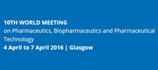 10th World Meeting on Pharmaceutics, Biopharmaceutics and Pharmaceutical Technology