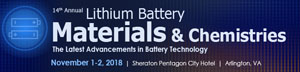 Lithium Battery Materials & Chemistries conference