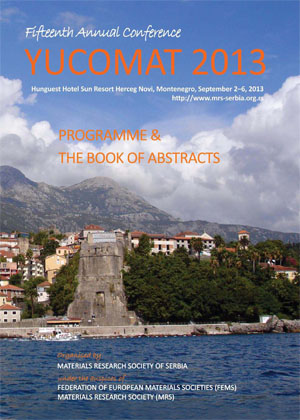 YUCOMAT 2013 Book of Abstracts