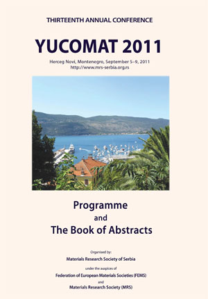 YUCOMAT 2011 Book of Abstracts