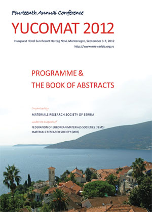 Yucomat 2012 Book of Abstracts